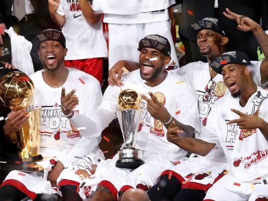 Does Miami Heat's future still feature Big 3?
