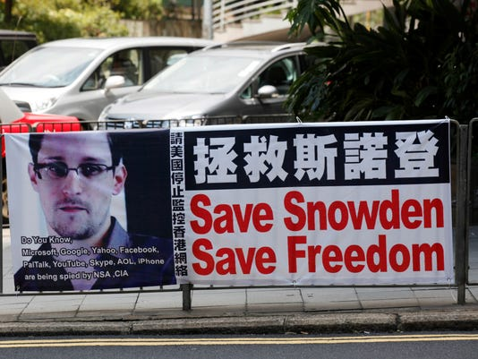 Snowden Your Say