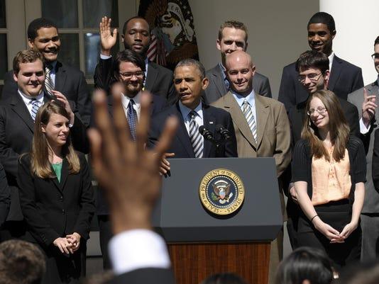 Obama talks student loans
