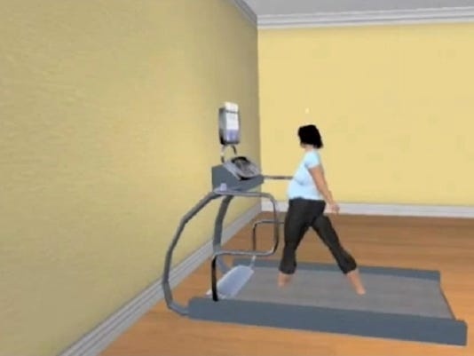 Game to lose weight