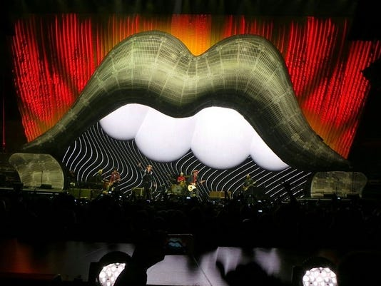 Rolling Stones Lips