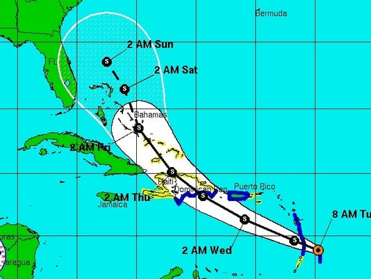 chantal-track-map-tuesday