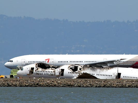 Asiana Plane crashed