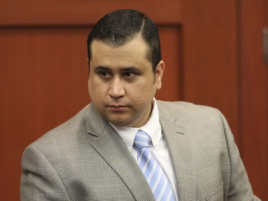 Defendant George Zimmerman arrives for his murder trial in Semimole circuit court