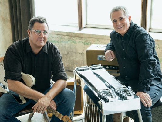 Vince Gill and Paul Franklin