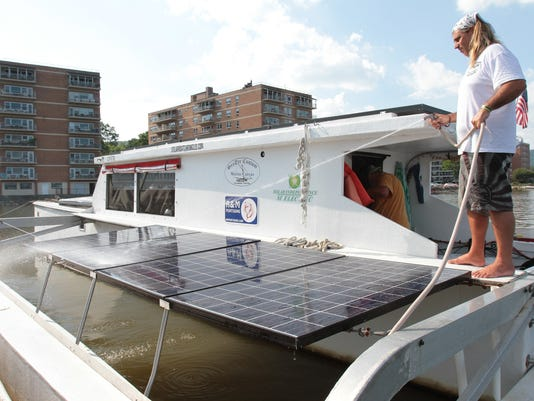Solar Powered Boat Aims For Record Setting Voyage