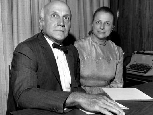 William H. Masters, M.D., and his wife, Dr. Virginia Johnson Masters ...