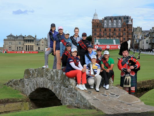 2013-7-30 lpga stars at the old course