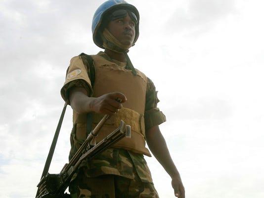 U.N. peacekeeping soldier Darfur