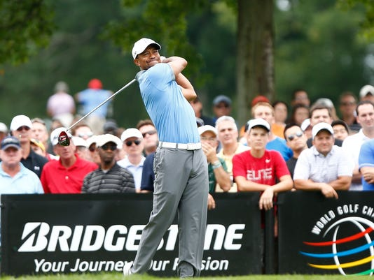 2013-8-2 tiger woods on no 8