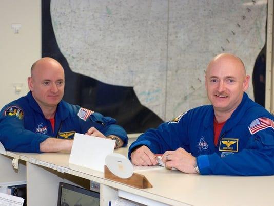 space twins study