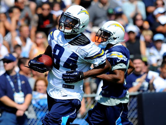 Chargers Danario Alexander Out For Year With Torn Acl