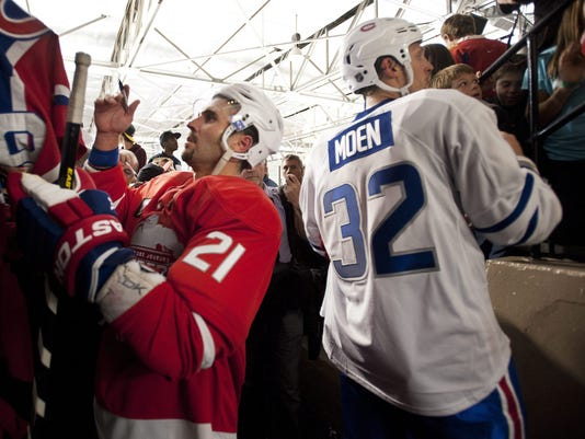 nhl exhibition game