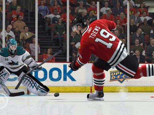 NHL 13 video game