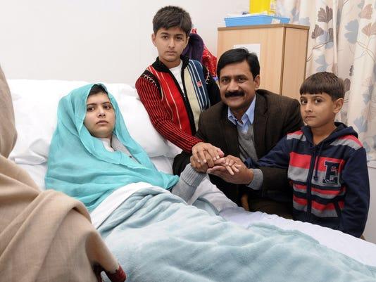 Malala Yousufzai family
