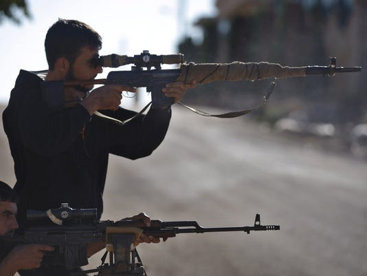Syrian Rebel Snipers