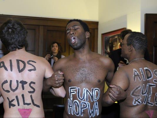 AIDS activists