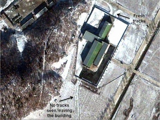 North Korea launching station
