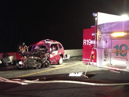 ohio holiday car accident