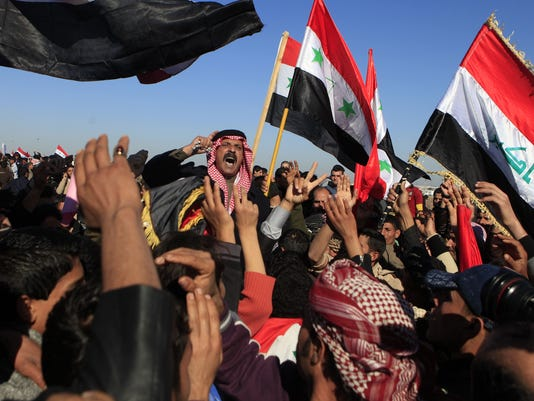 Sunni protest