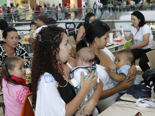 Costa Rica breastfeeding