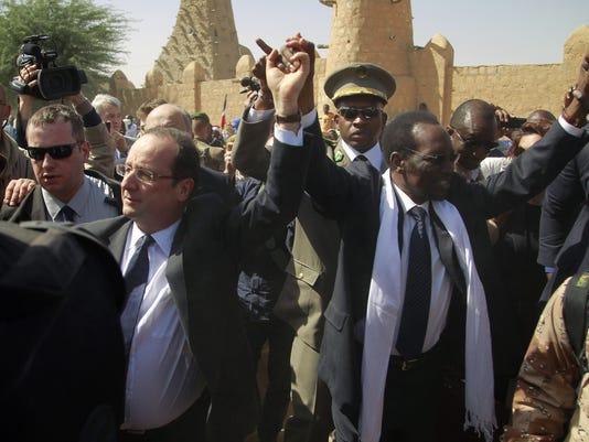 france president hollande mali