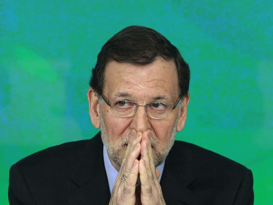 spain prime minister mariano rajoy