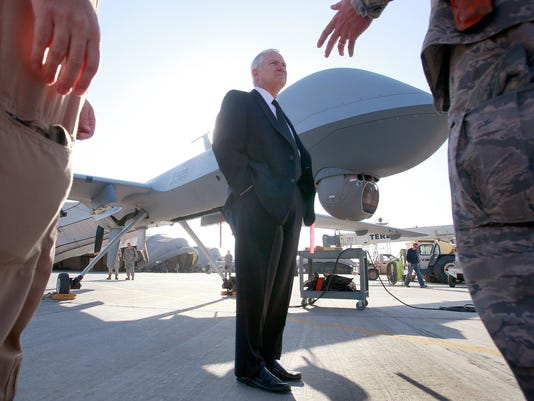 robert gates UAV