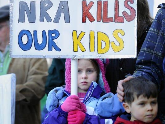 connecticut gun protest