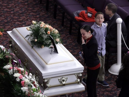 Sierra funeral