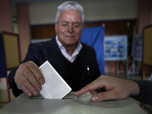Cyprus voting