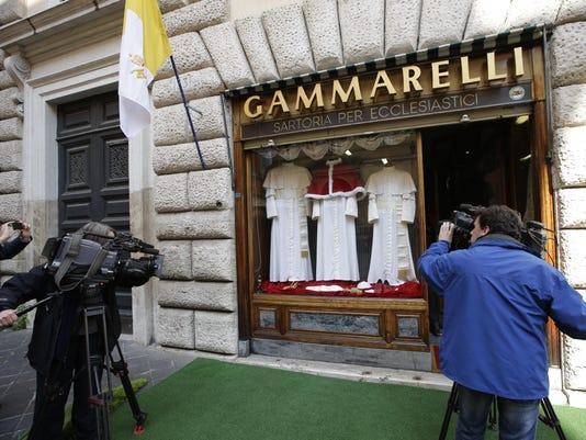 Gammarelli tailoring shop