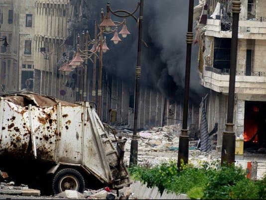 Syria shelling