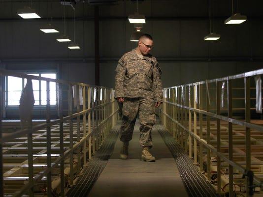 U.S. military guard