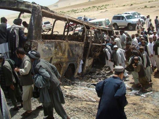 afghan crash