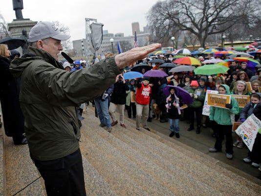 Minnesota Gov. Mark Dayton for gay marriage