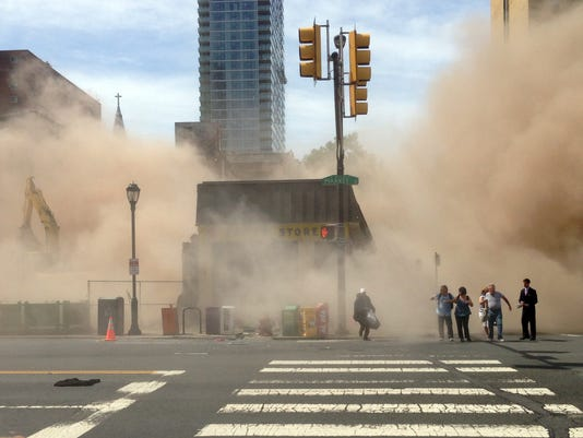 philly building collapse