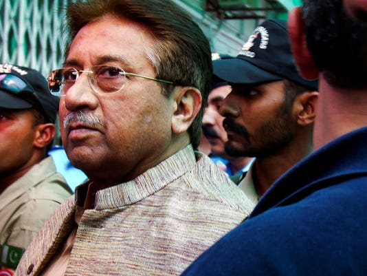 Pervez Musharraf to be tried for treason