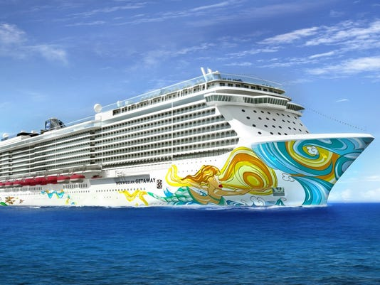 Norwegian Getaway Hull To Feature Art By Lebo