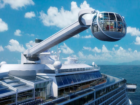 Photo tour: The hottest new cruise ships of 2014