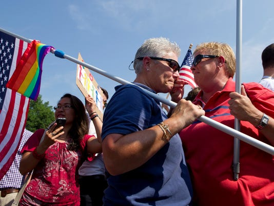 across nation gays celebrate court rulings