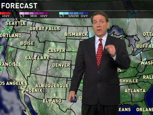 wednesday national weather forecast