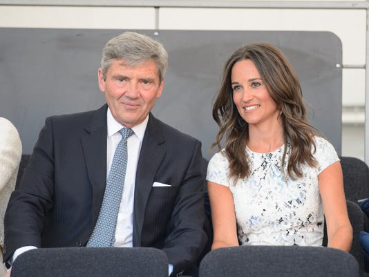 Pippa Middleton and father Michael