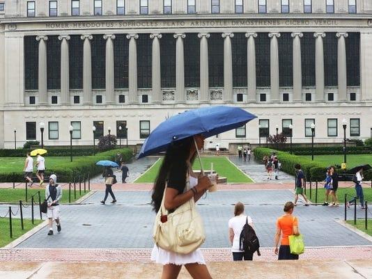 college rain