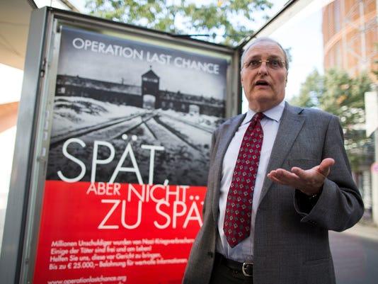 AP Germany Nazi Hunting