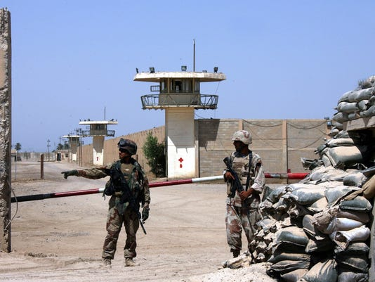 Iraq prison raids