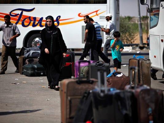 gaza restrictions egypt