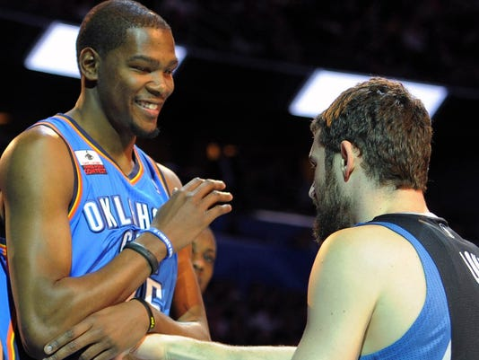 kevin durant love 7-24-13