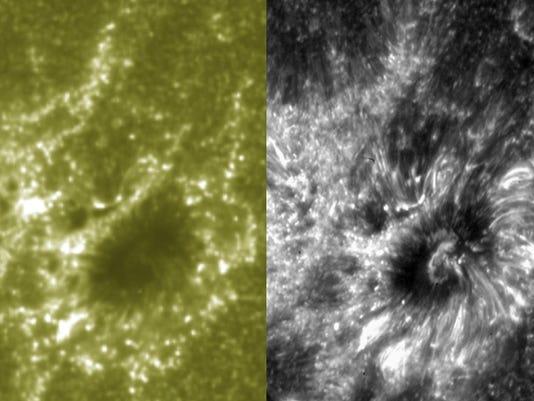 Sun close-up