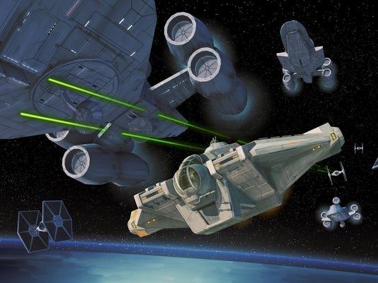 Rebels ships
